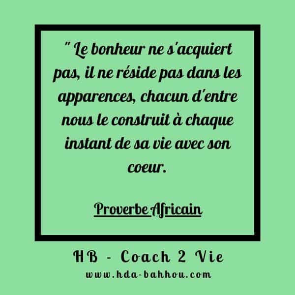 citation positives coach pnl Proverbe africain